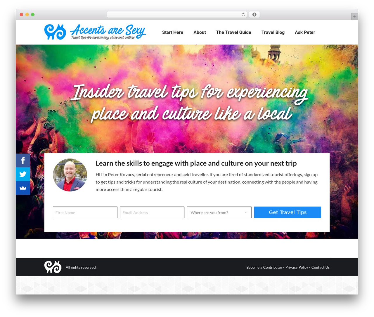 The7 WordPress theme - accentsaresexy.org