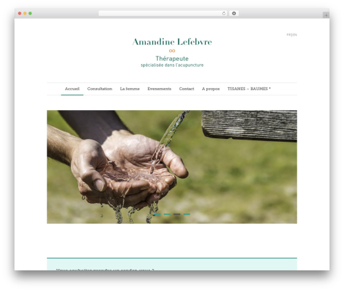 Theme WordPress Quare - acupunctureamandinelefebvre.com