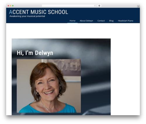 WordPress boldgrid-editor plugin - accentmusicschool.com