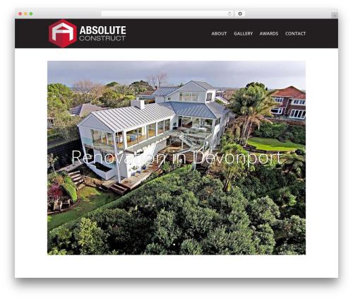 WordPress theme Divi - absoluteconstruct.co.nz