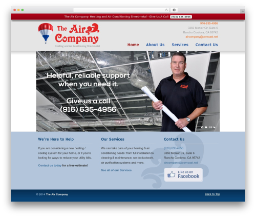 WP template U-Design - aircompanyhvac.com
