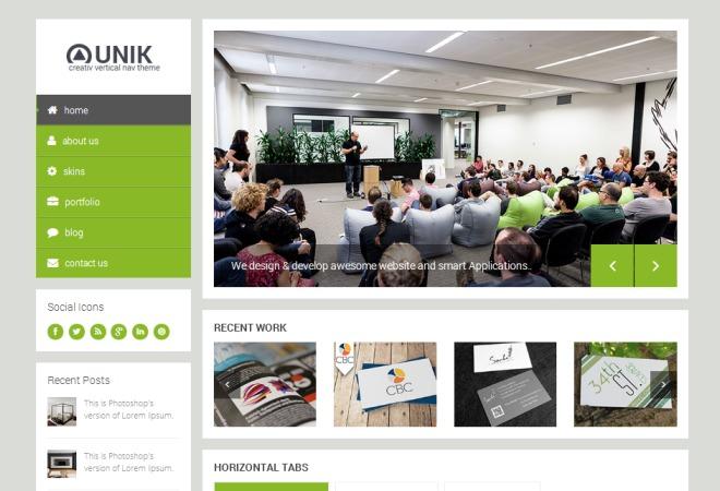 Afrinvest theme WordPress