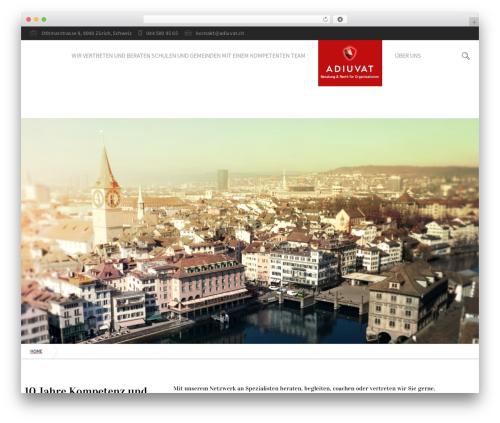 Free WordPress TablePress plugin - adiuvat.ch