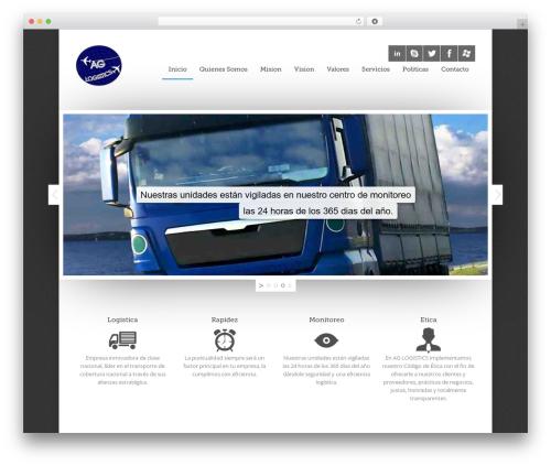 Quare WordPress template - aglogistics.com.mx