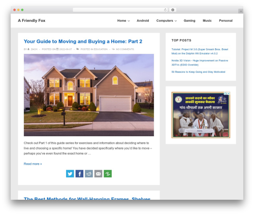 WordPress simple-content-reveal plugin - afriendlyfox.com