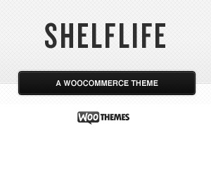 Shelflife WordPress theme design