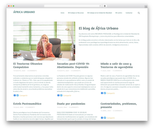 WP template HypnoTherapy - africaurbano.com