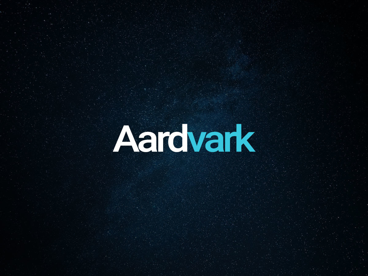 aardvark WordPress theme design