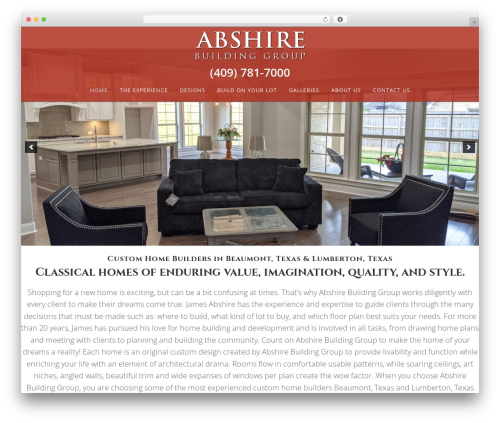 Ally WordPress theme - abshirebuildinggroup.com