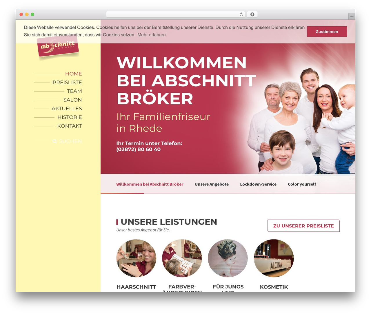 BeautySpot WordPress theme - abschnitt-broeker.de
