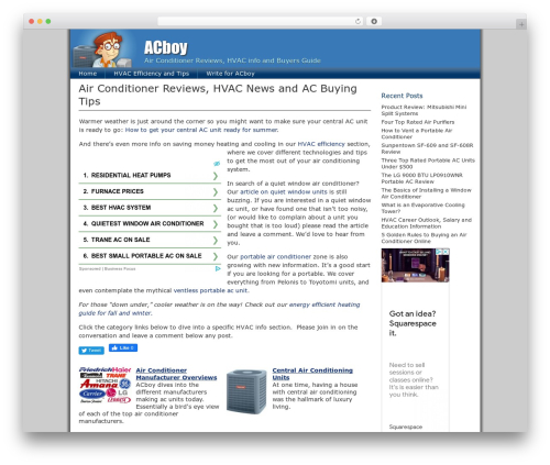 ClickBump WordPress magazine theme - acboy.org
