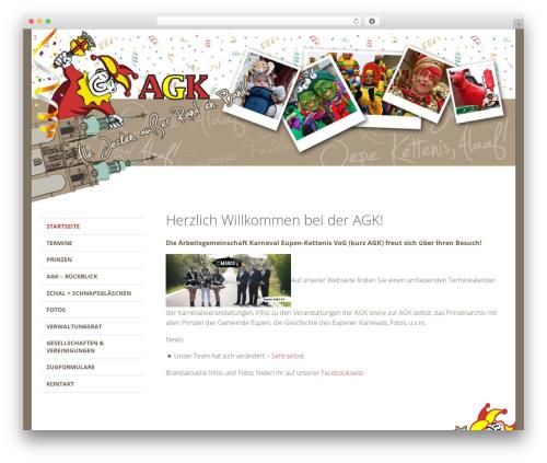 FoundationPress WordPress theme - agk-eupen.be