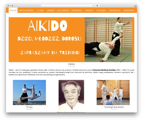 Pinnacle template WordPress free - aikido-kaak.pl