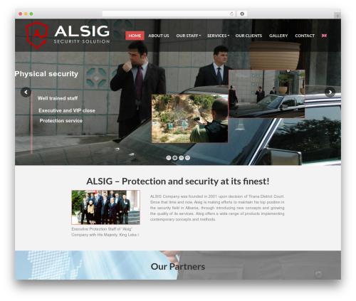 PressCore WordPress theme - alsig.com