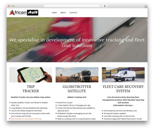 WordPress website template LSX - africanstuff.co.za