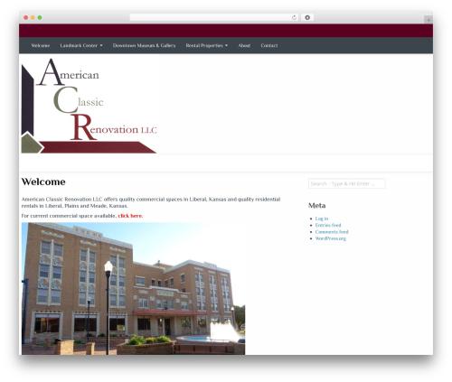 Almasi premium WordPress theme - americanclassicrenovation.com