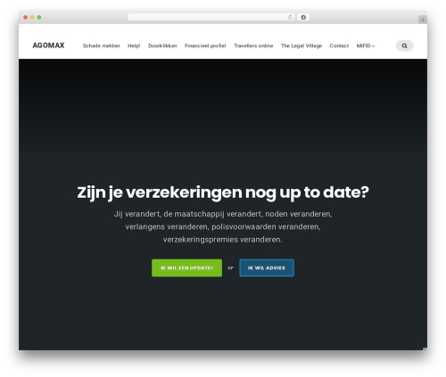 Businessx WordPress template free download - agomax.be