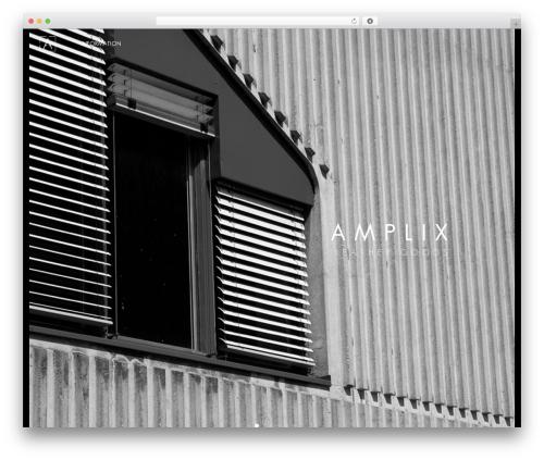 Merchandiser best WordPress template - amplix.nl