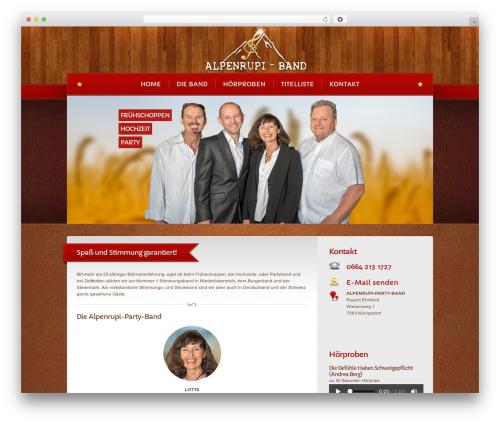 Template WordPress Bordeaux Premium Theme - alpenrupi.com