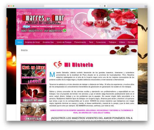 Theme WordPress Nevia (Shared on www.MafiaShare.net) - amarresdeamor.biz