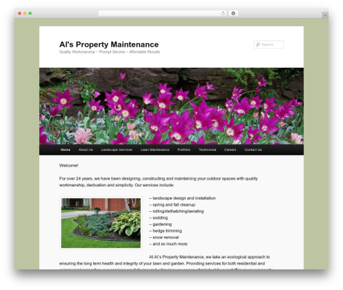 Twenty Eleven theme WordPress free - alspropertymaintenance.com