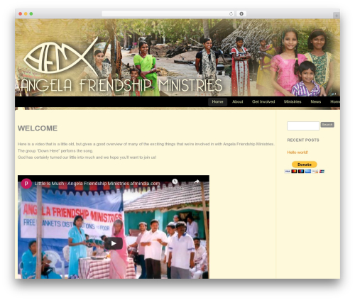 WordPress theme CC Child Theme - afmindia.in