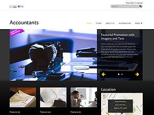 Accountants WP template