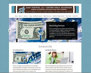 AdamTraywick WordPress theme