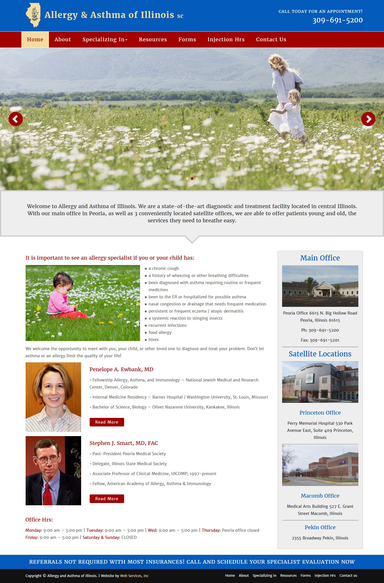 Allergy And Asthma Theme WordPress blog template