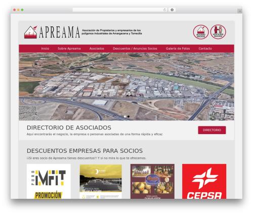 Catch Base Pro template WordPress - apreama.com