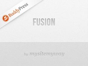 Fusion BuddyPress WordPress theme