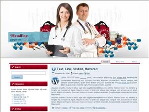 Health View WordPress theme