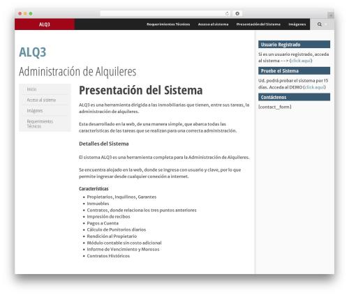 SmartAdapt theme WordPress free - alq3.com.ar