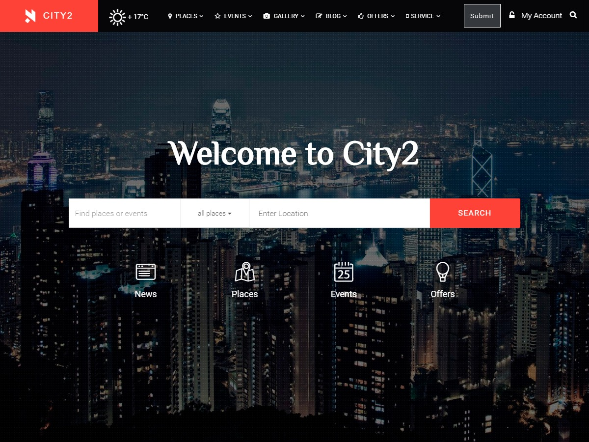 Theme WordPress City2