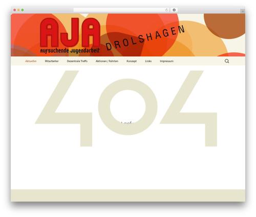 Twenty Thirteen WordPress theme - aja-drolshagen.de