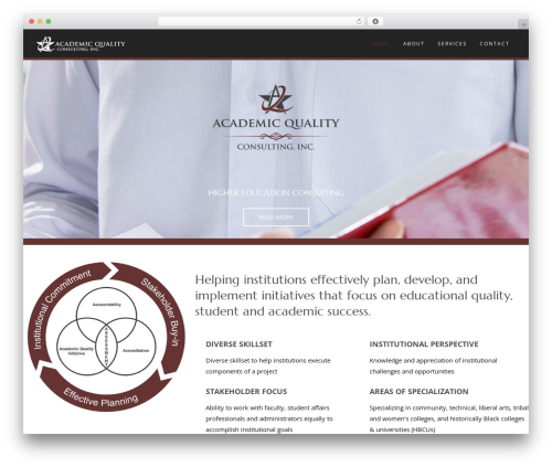Wp Haswell WordPress theme - academicqualityconsulting.com