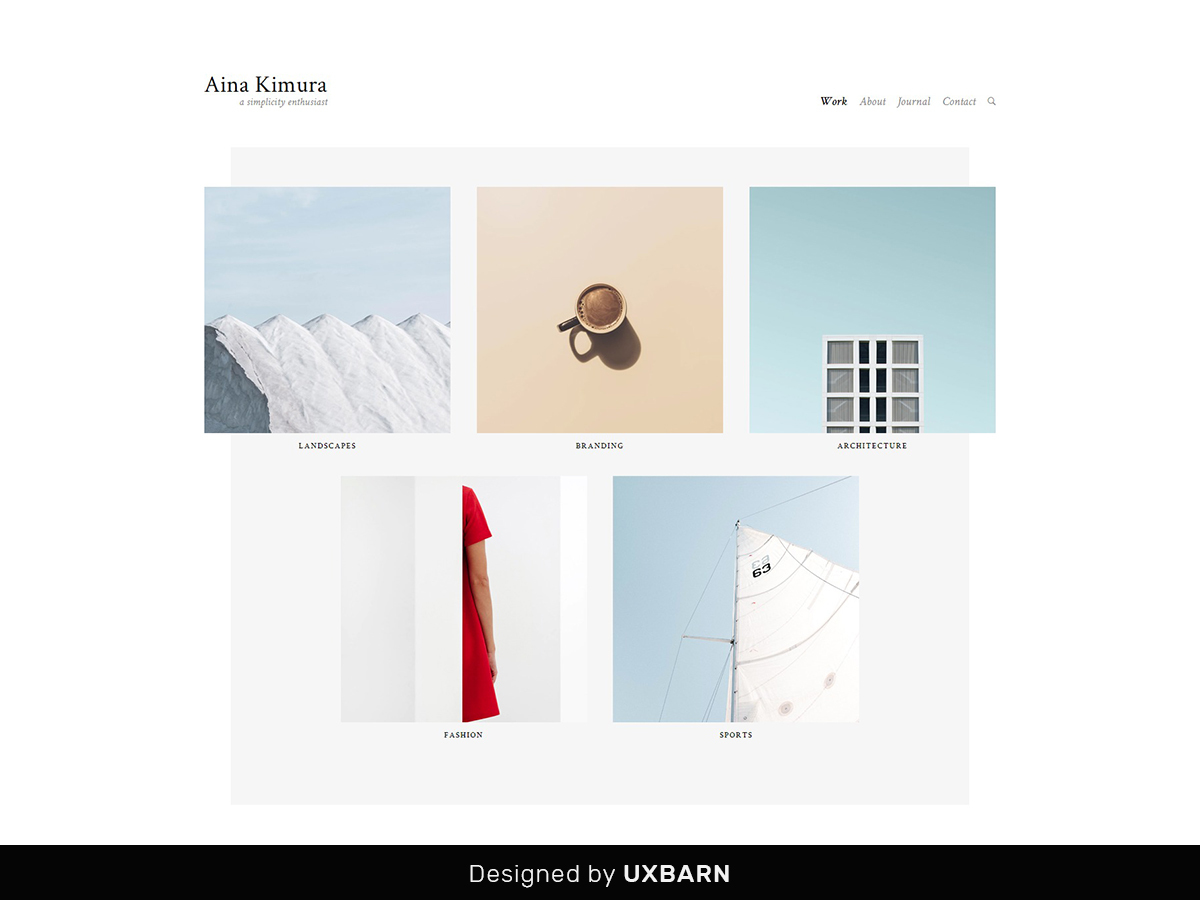 aina WordPress theme