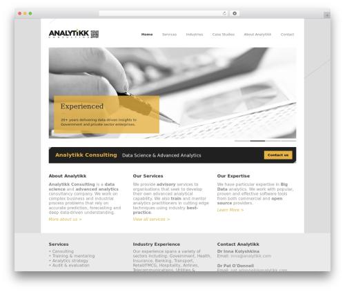 Free WordPress Google Analyticator plugin - analytikk.com