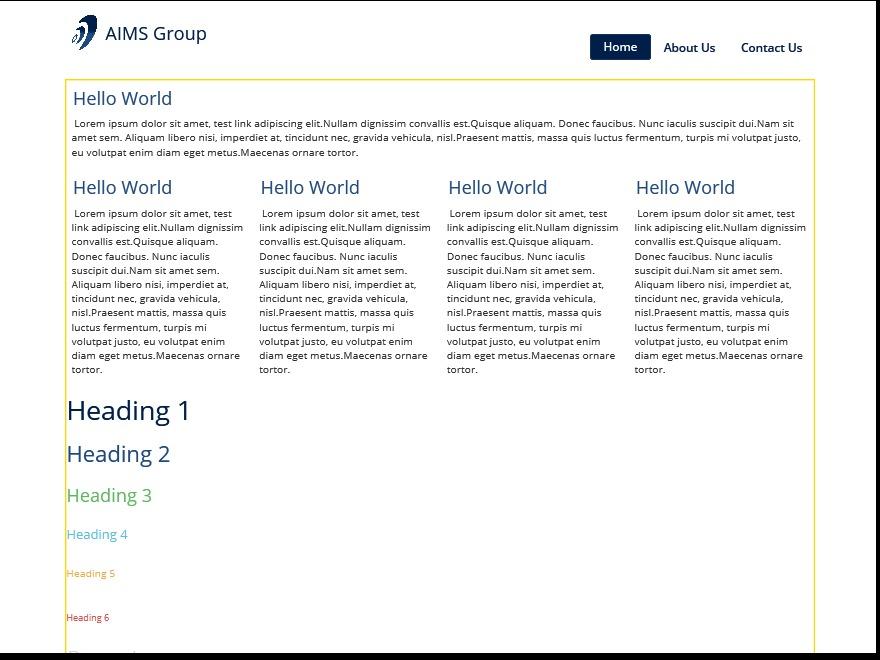 Best WordPress template aimsgroup