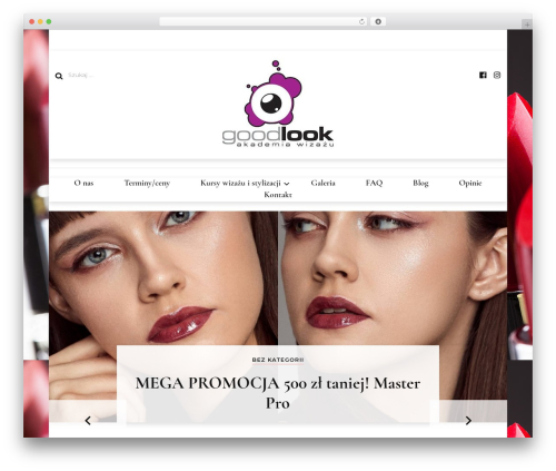 Blossom Fashion WordPress template - akademiagoodlook.pl