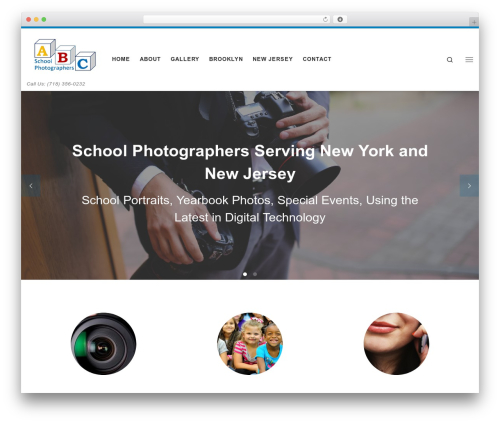 Customizr free WordPress theme - abcschoolphoto.com