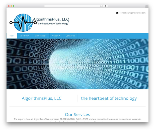 Health-Center-Pro WP theme - algorithmsplus.com
