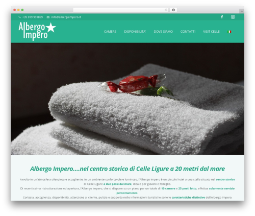 WordPress Slider Revolution plugin - albergoimpero.it/home