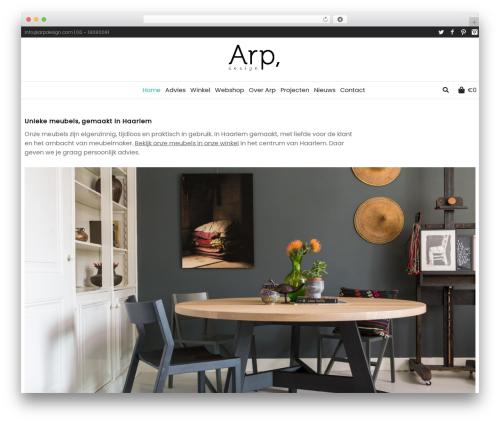 WordPress woocommerce-category-accordion plugin - arpdesign.com