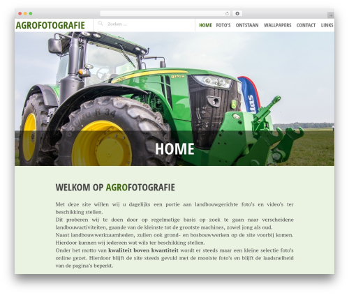Pictorico WordPress template free download - agrofotografie.be