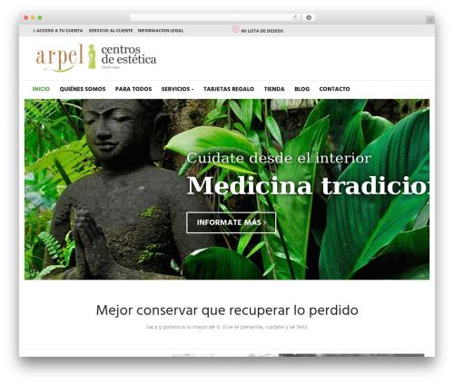 Suave best WordPress template - arpelestetica.es