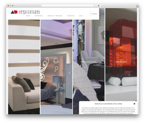 Theme WordPress Domik - adinteriorismo.com