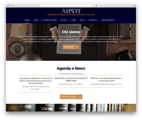WordPress website template Libero - aipdt.it