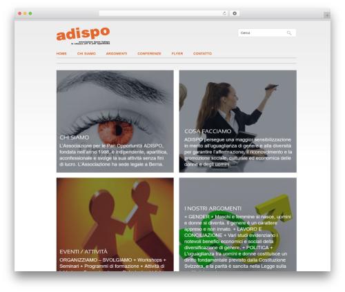 ADISPO WordPress theme - adispo.ch
