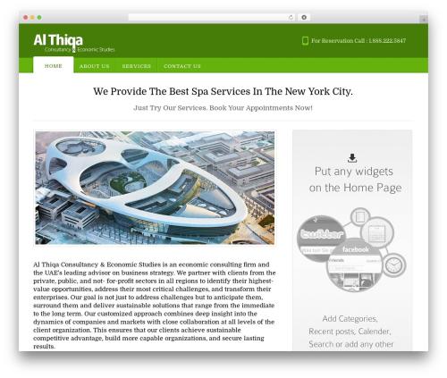 Appointway theme WordPress - al-thiqa.net